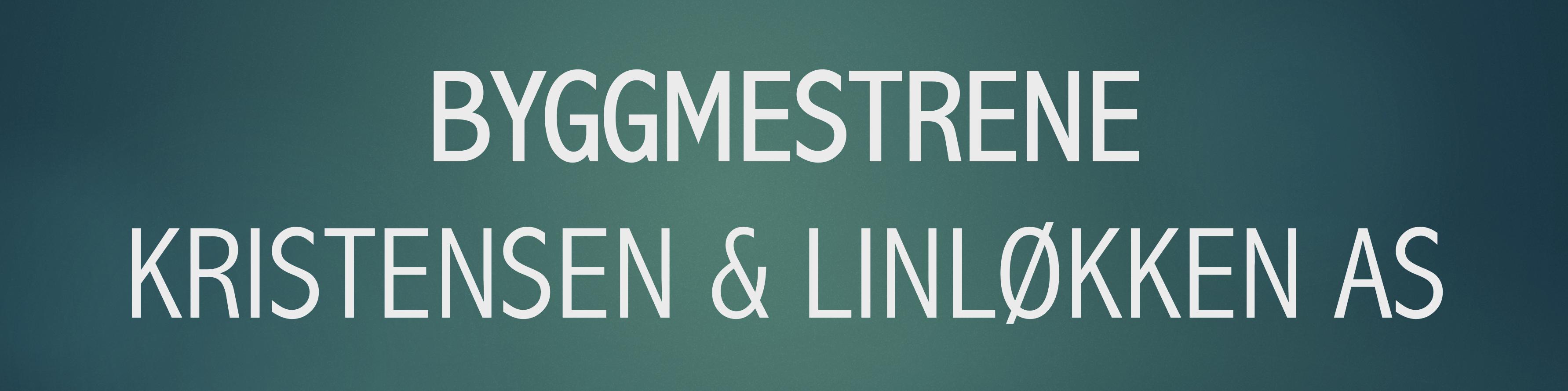Byggmestrene Kristensen & Linløkken AS logo