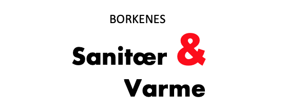 Borkenes Sanitær og varme AS logo